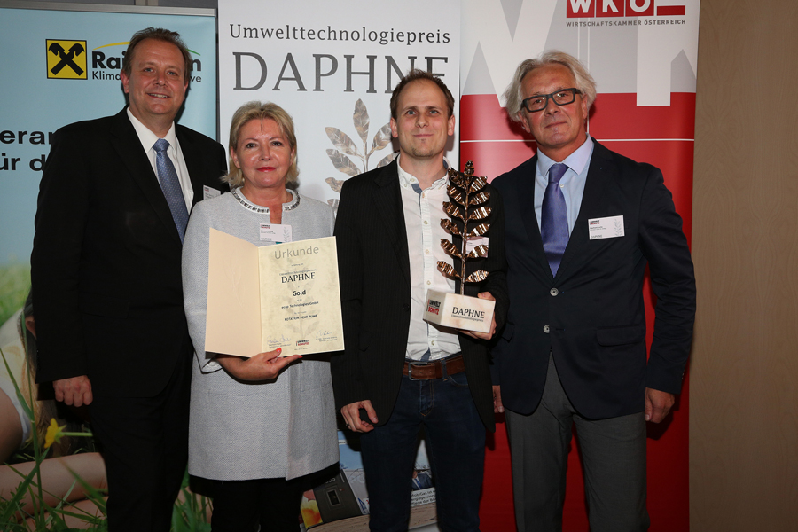 """Daphne""-award in gold for ecop"