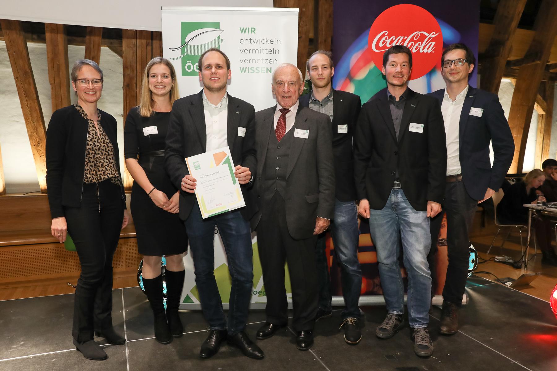 ROTATION HEAT PUMP mit ÖGUT-Umweltpreis 2017 ausgezeichnet!