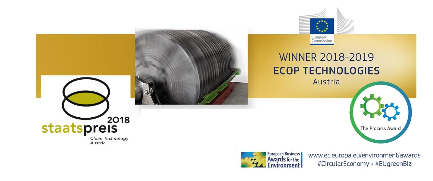 Preisregen: ecop 3-fach ausgezeichnet