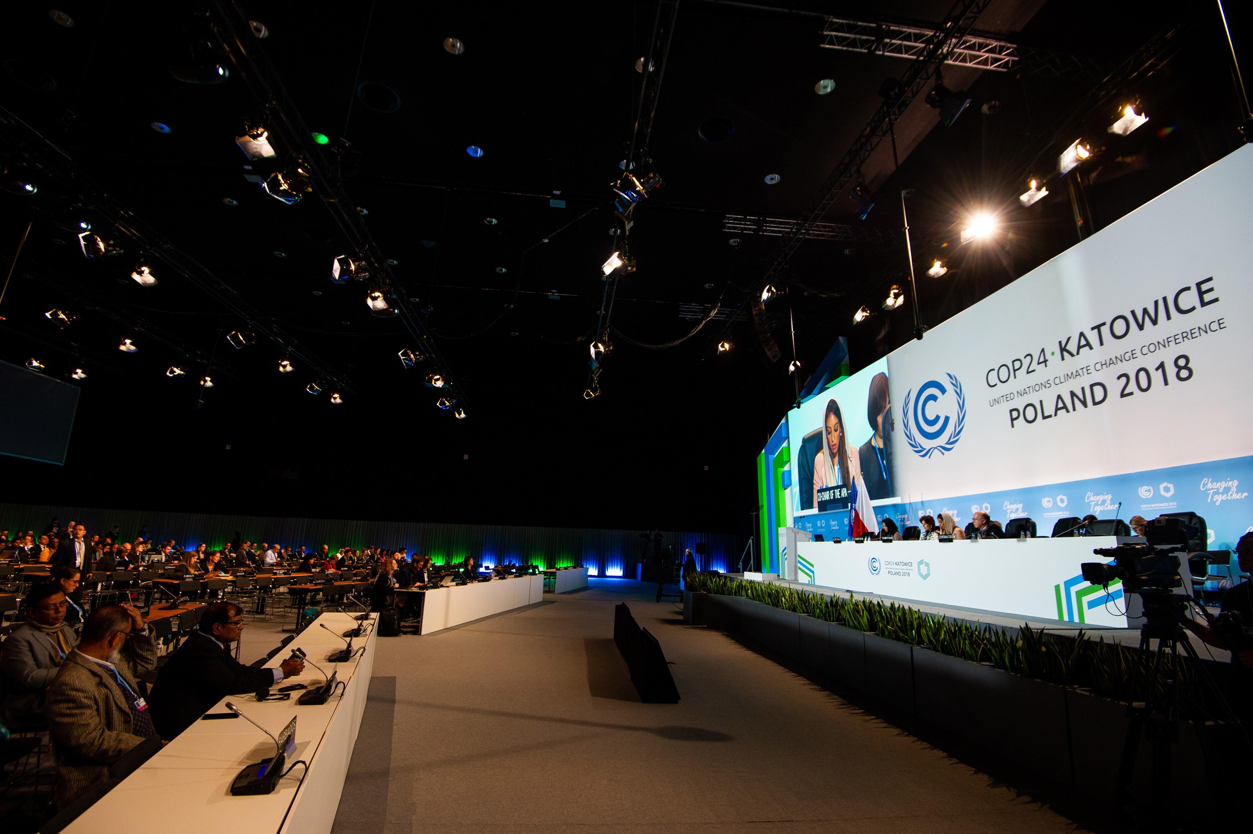 Präsentation bei der Weltklimakonferenz in Katowice